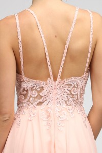 A Line Embellished Top Gown